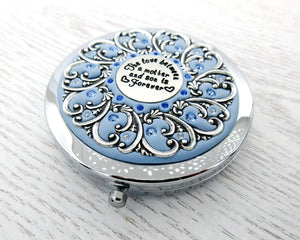 Mother and Son Compact Mirror
