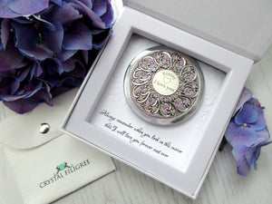 Sister Compact Mirror