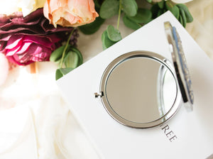 """Love of my life"" Compact Mirror"