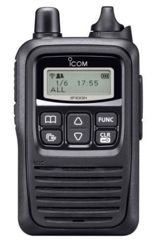 Icom IP-100H Two Way Radio For Wireless Networks (WiFi)
