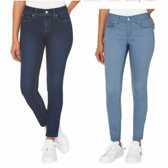 SALE! NEW Jones New York Comfort Waist Skinny Jeans Pants JNY Jean #1362182