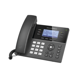 GXP1760W - IP Phone Medium range of 6 lines with 4 function keys, 24 digital BLF extension keys and 5-way PoE conference
