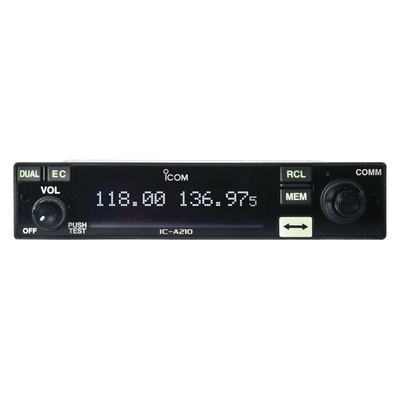 Icom IC-A210/25 Air-Band Mobile Radio with 200 Channels. 25 kHz and 8.33 kHz Channel Spacing