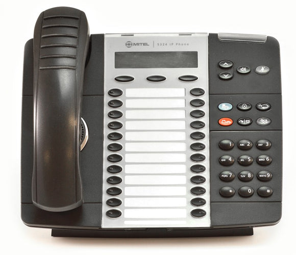 Mitel 5324 Dual Mode IP Phone (Black)