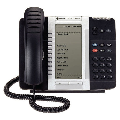 Mitel 5330 Backlit IP Phone Large Backlit Display