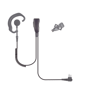Lapel SPM300EBILS - Microphone With Soft Earhook Style Earphone