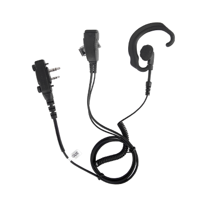 Lapel SPM330SEB  - microphone and adjustable headset to the ear