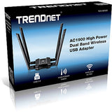 TrendNet TEW-809UB AC1900 High Power Dual Band Wireless USB Adapter