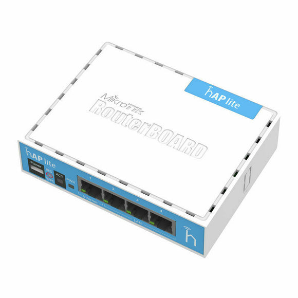 Mikrotik hAP Lite Routerboard RB941-2nD Wireless N 4xPort Router RouterOS L4