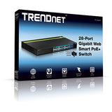 TrendNet TPE-2840WS 28-Port Gigabit Web Smart POE+ Switch