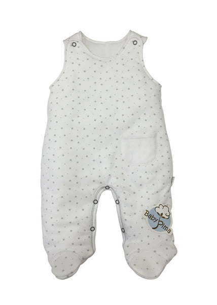 Reversible padded footed overall