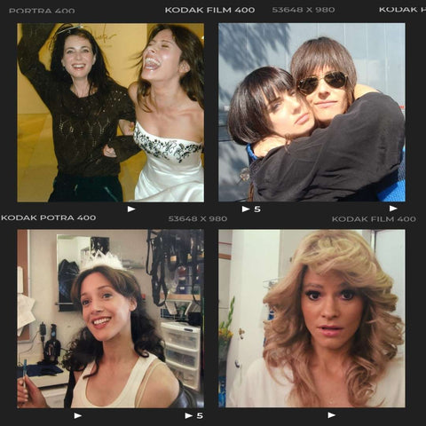 Fun memories collage with The L Word actors having fun, laughing, hugging, smiling and some playfully dressed up