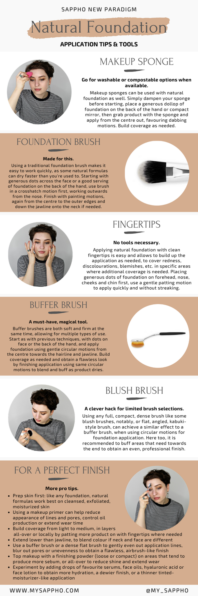 Pro makeup artist tips for natural foundation application