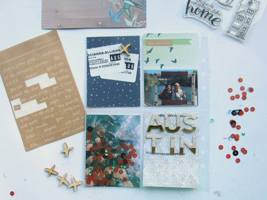 Project Life Pocket Scrapbooking Video with Allison