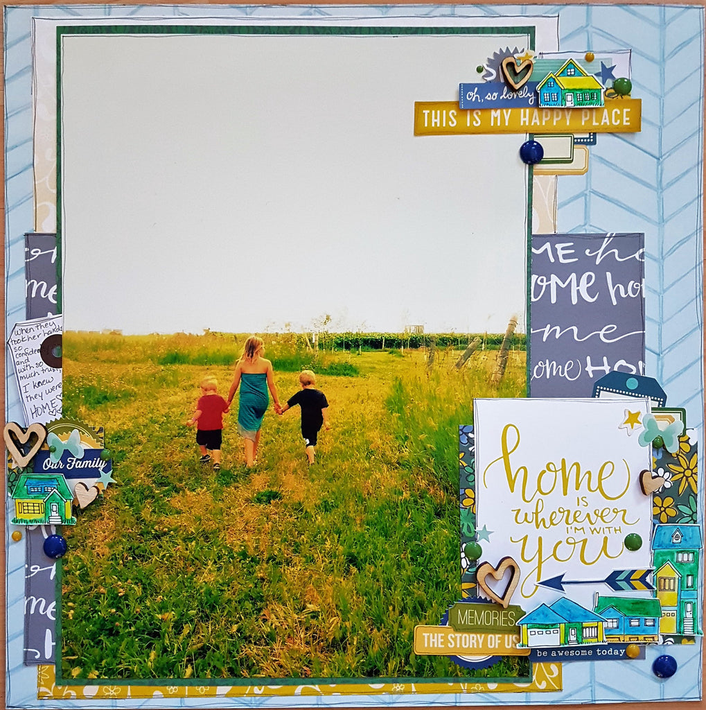 Our March Guest Designer, Jenn, is Sharing a Layout Process Video