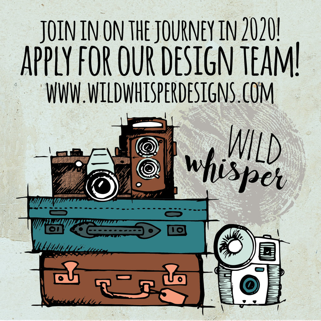Join in on the Journey! Apply for our Design Team!