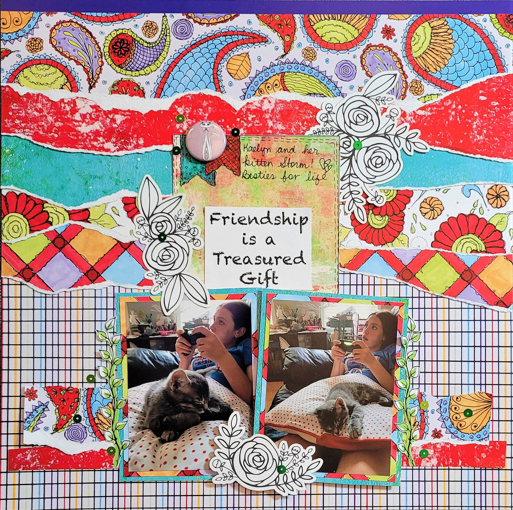 12x12 Layout ft Carefree by Pam Bray