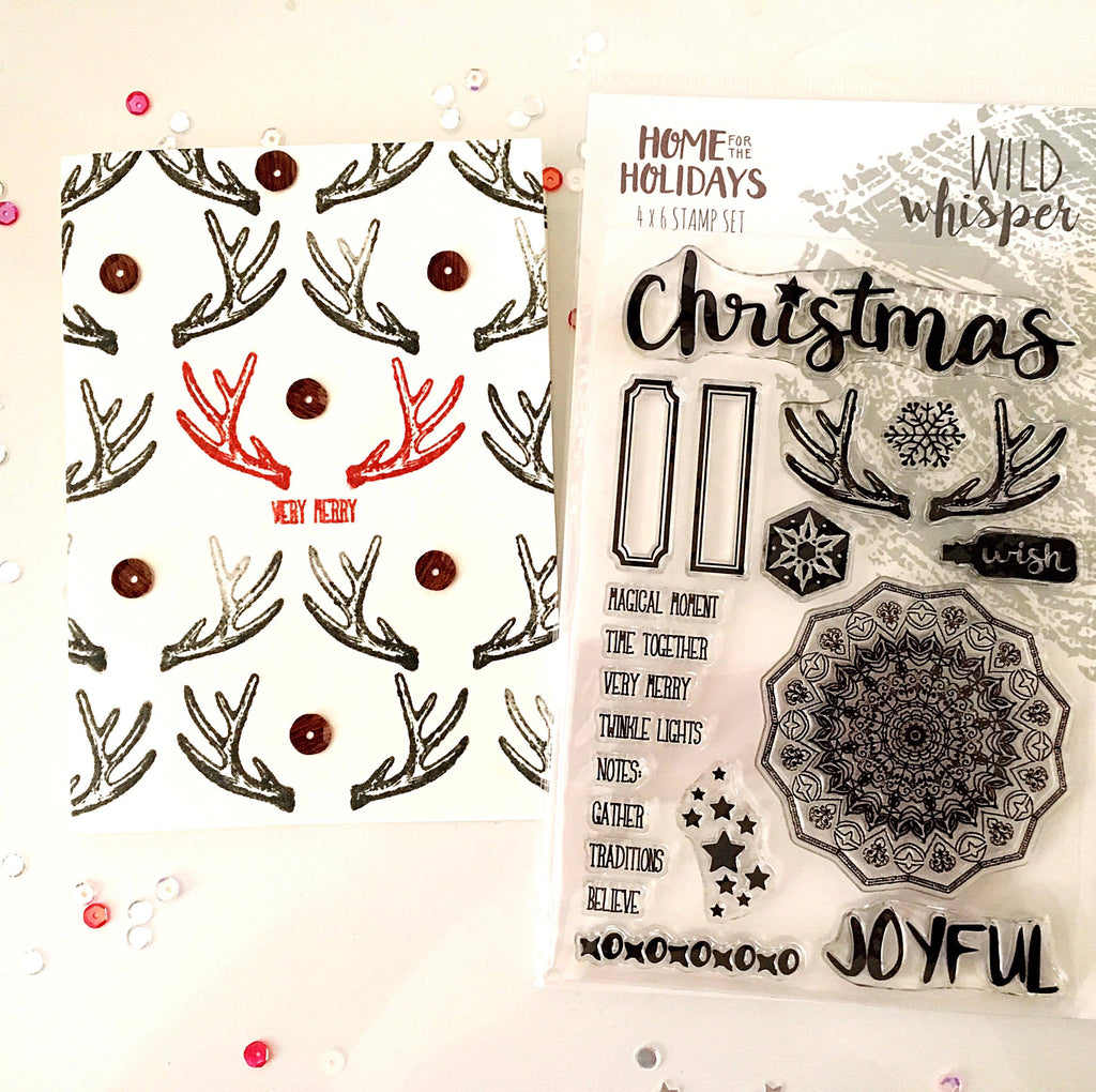 """Stamp your Stamps"" Christmas Cards by Tori"