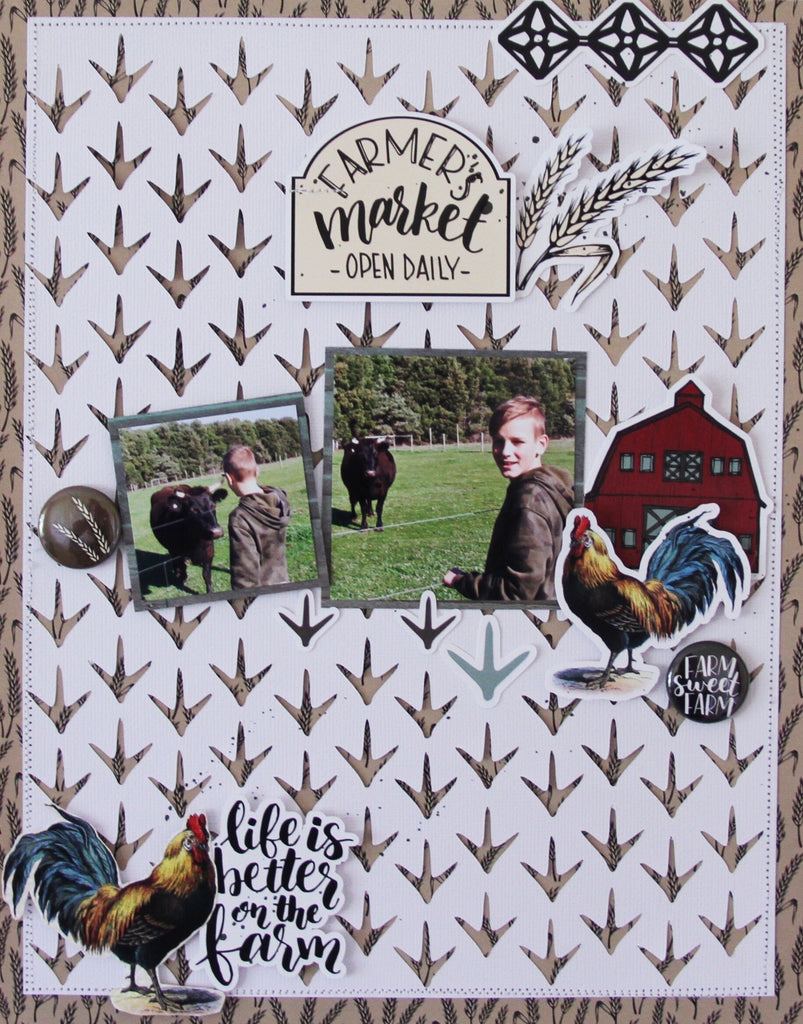 Farmhouse Collection | Life is better on the Farm |Layout | Rachel Lowe