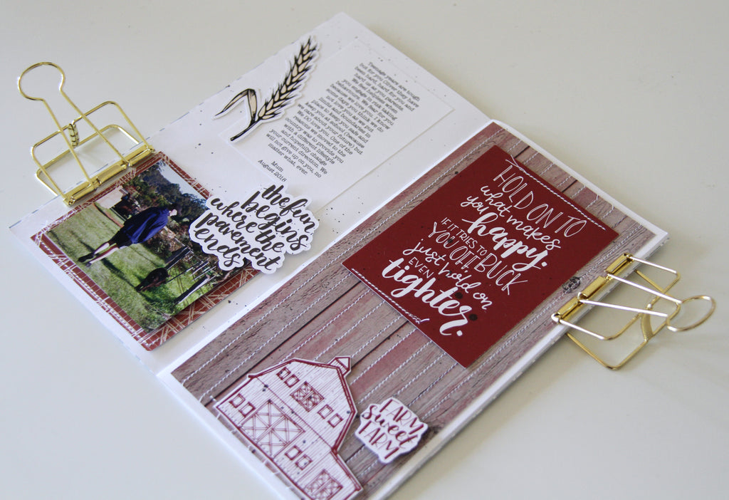 FARMHOUSE Collection | Travellers Notebook | Rachel Lowe