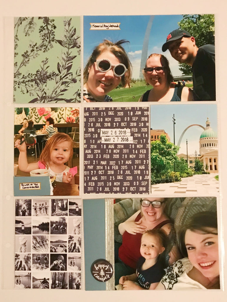 Lake Life Pocket Page by Emily