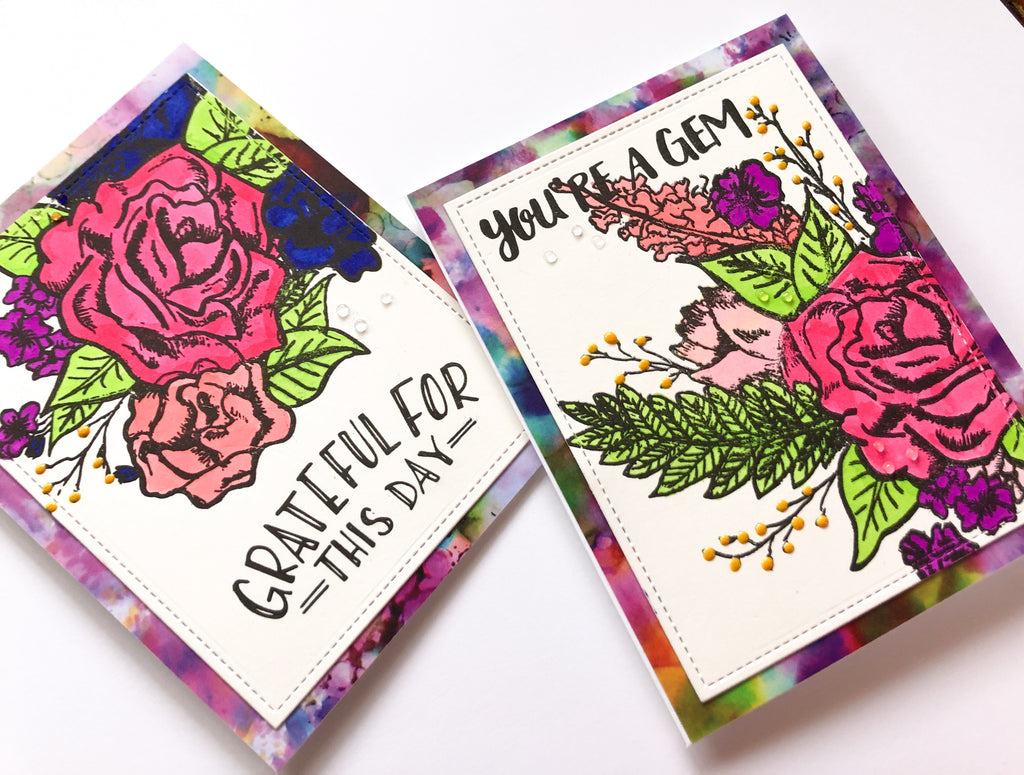 Bright And Bold Cards With Sara Scraps