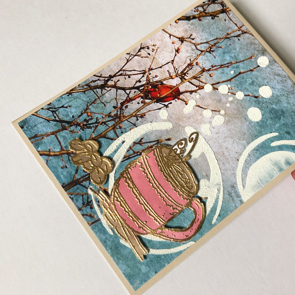 Whimsical Cards Using Nature's Bliss With Sara