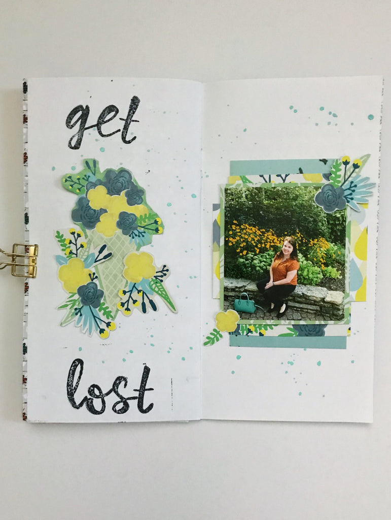 Get Lost Traveler's Notebook by Emily
