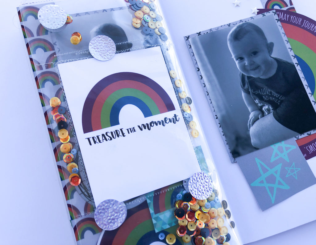 Traveler's Notebool Layout With Sara