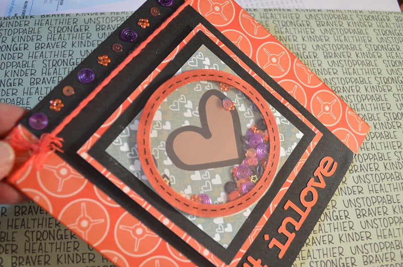 A Valentine's Card by Linda - Wild Whisper Style!