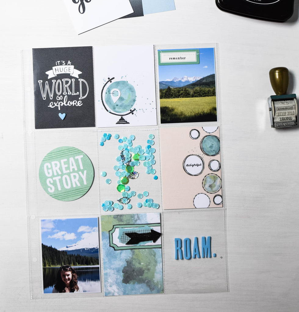 Project Life layout by Rachel