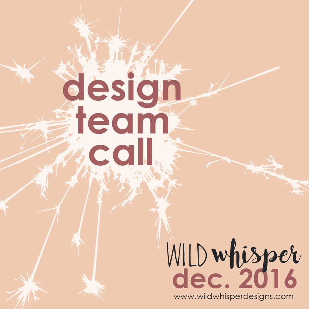 Wild Whisper's First Design Team Call!