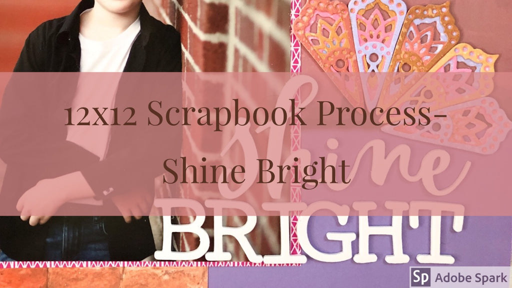 12X12 Scrapbook Layout With Sara Scraps