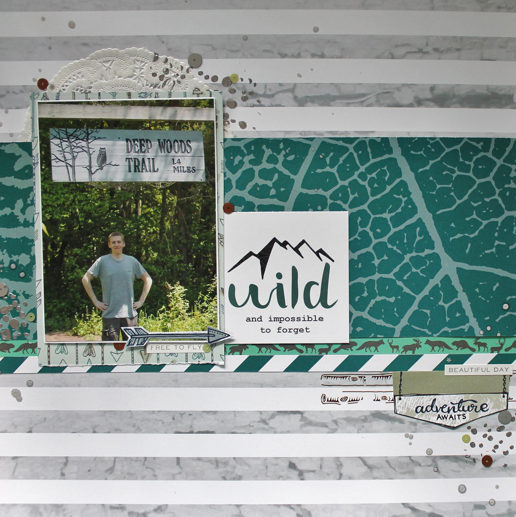 "Katelyn Shares a Process Video on her ""Wild"" Layout"