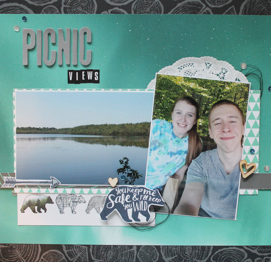 Katelyn with Picnic Views Layout Video!