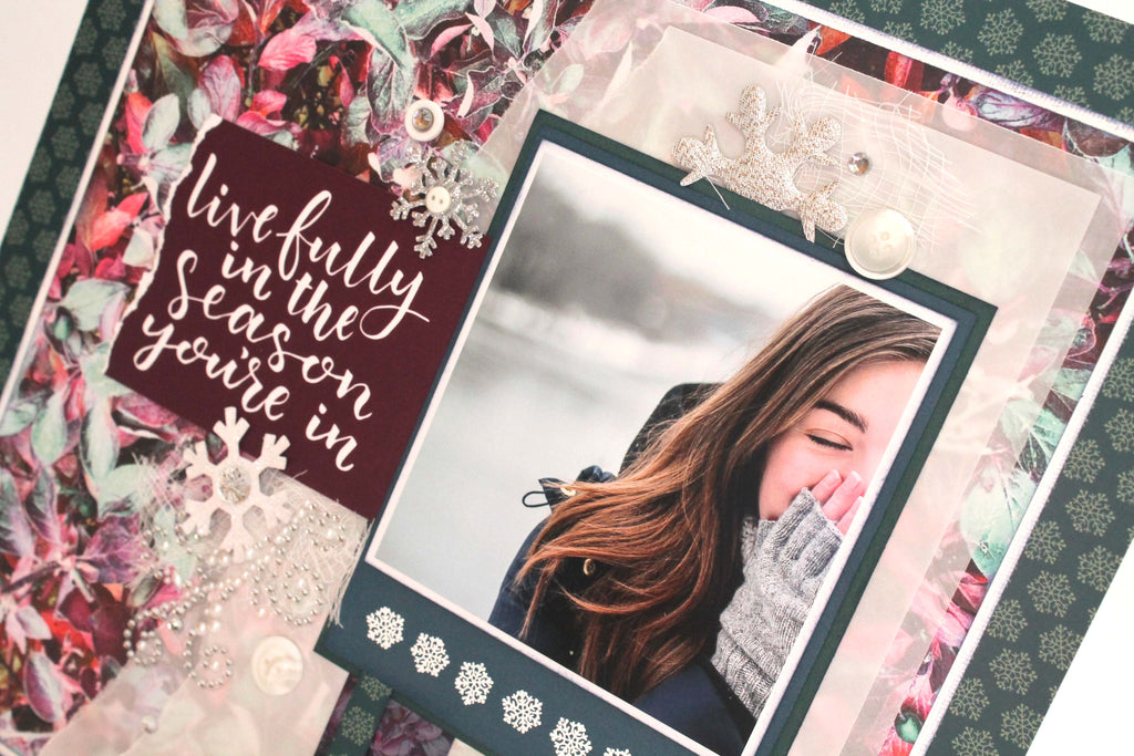 Wonderfully Winter Layout with Tracy