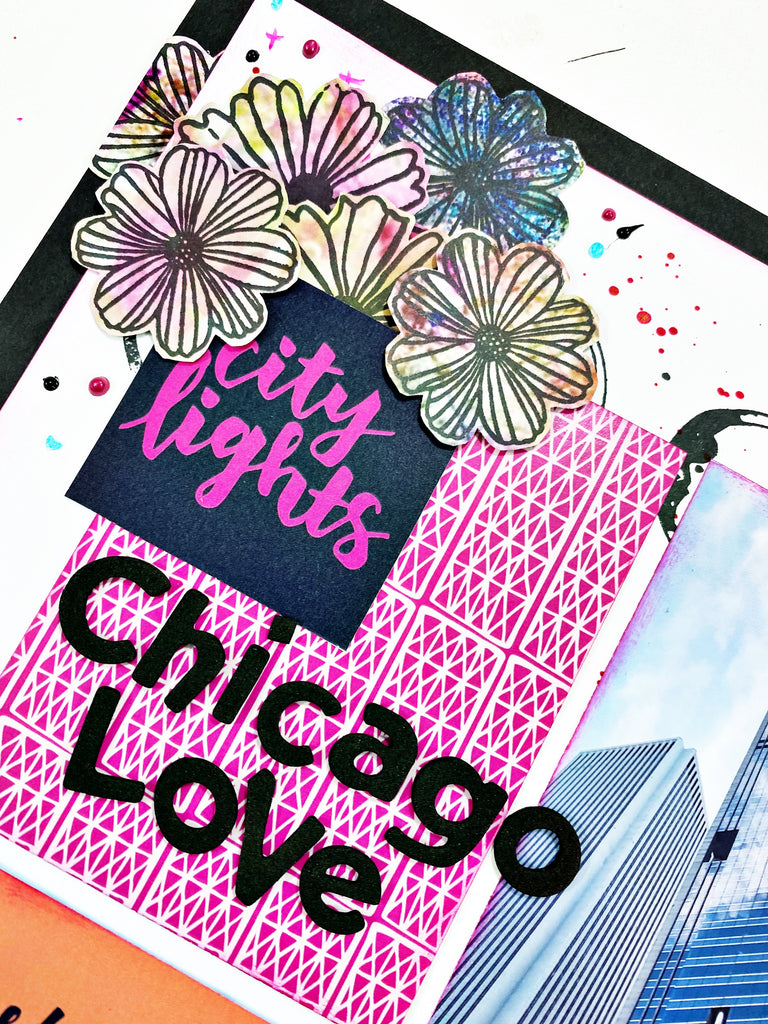 Chicago Love Grid Layout with Khristina
