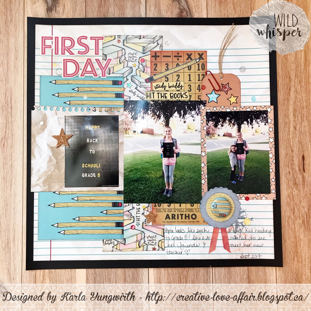 """First Day"" Layout by Guest DT Karla"
