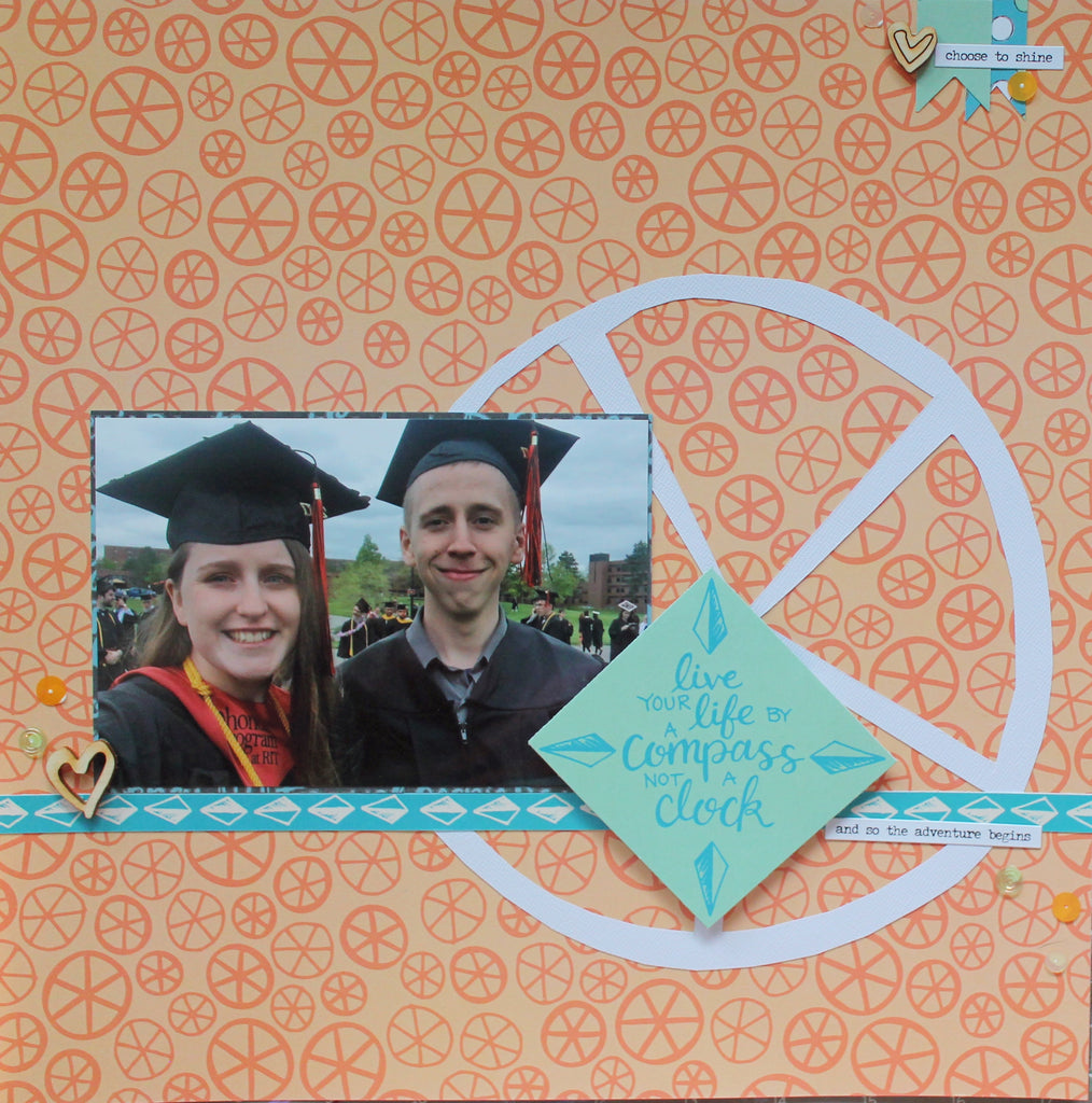 Katelyn Shares a Grad Layout with Process Video