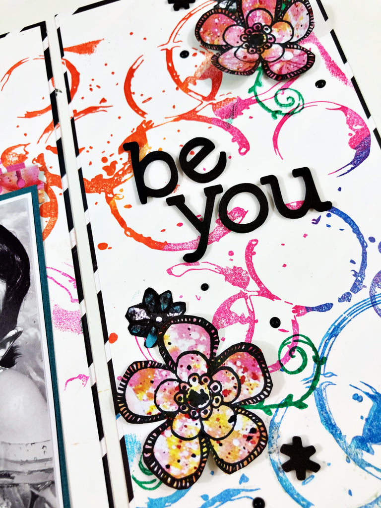 Be You Traveler's Notebook Layout with Khristina