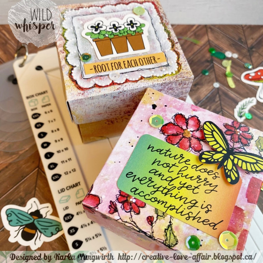 Creating Explosion Gift Boxes by Karla