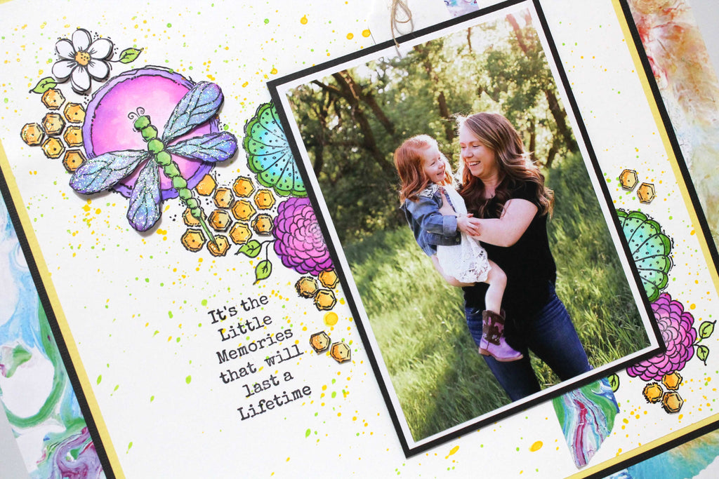 Little Memories Layout by Tracy