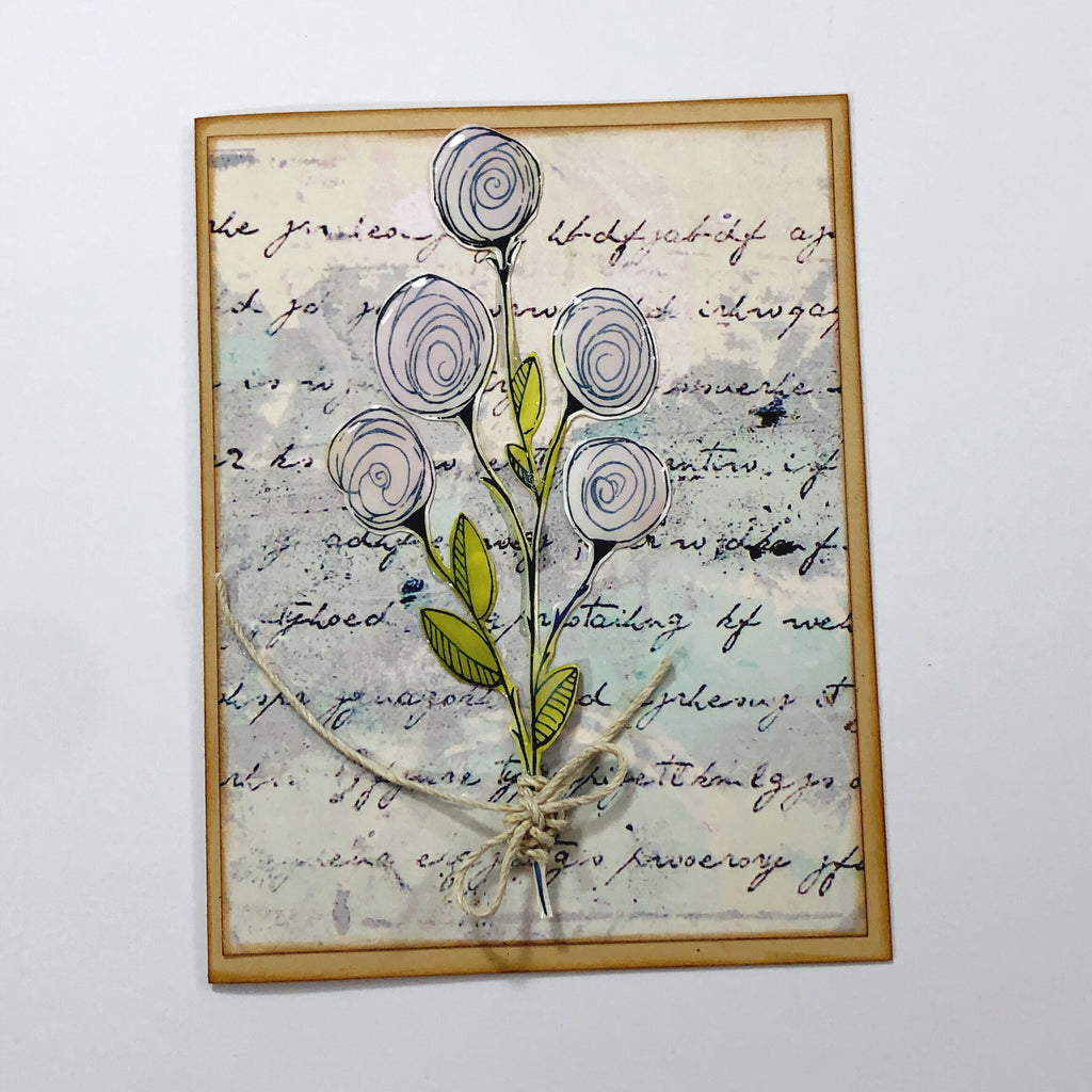 Tea Stained Tag Cards With Sara Scraps