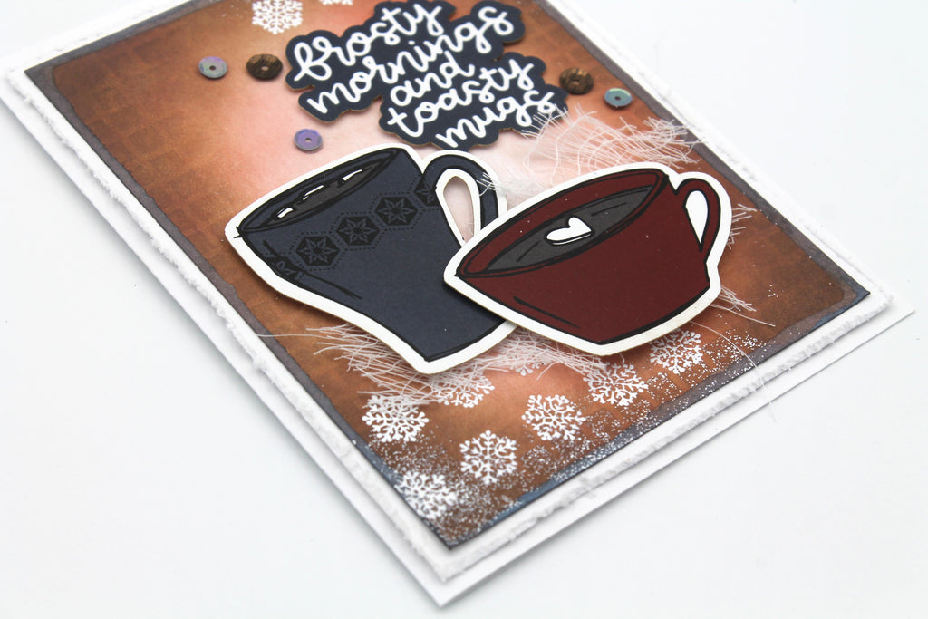 Toasty Mugs Card by Tracy
