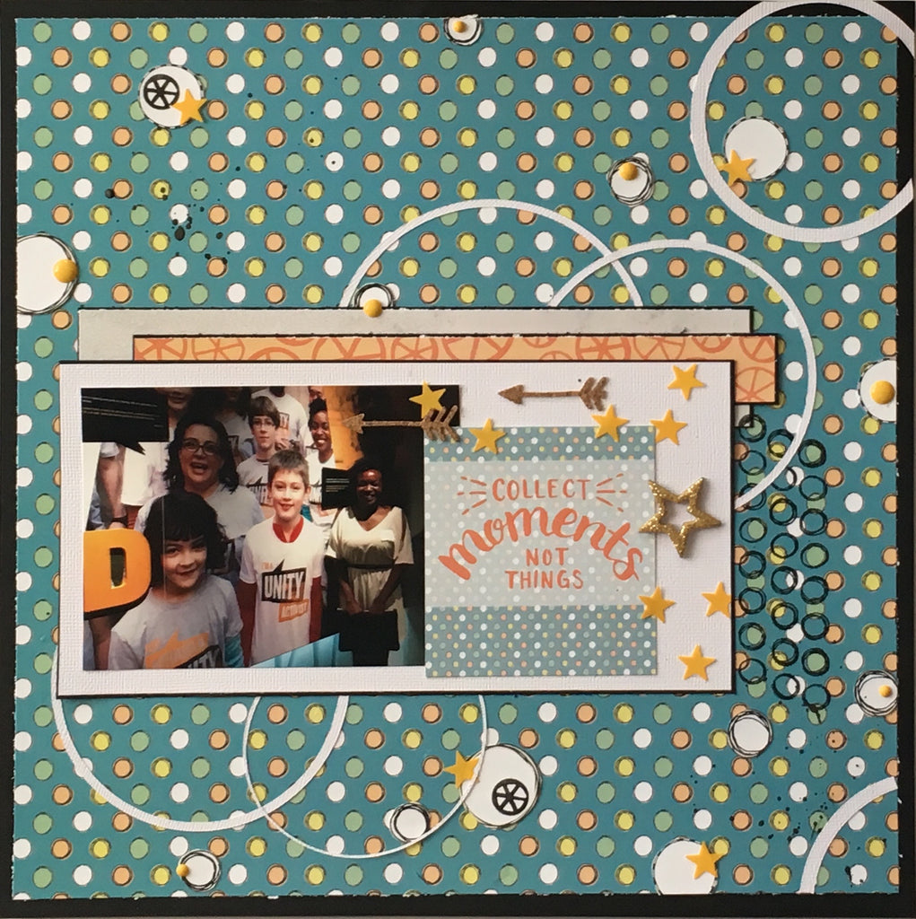 """Collect Moments"" Layout by Felicia"