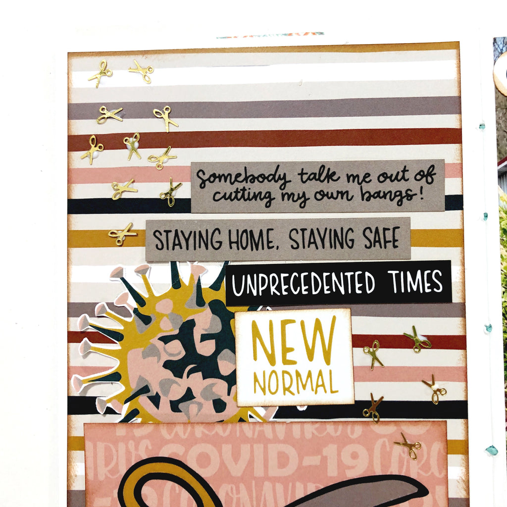 Traveler's Notebook Spread With Sara Scraps