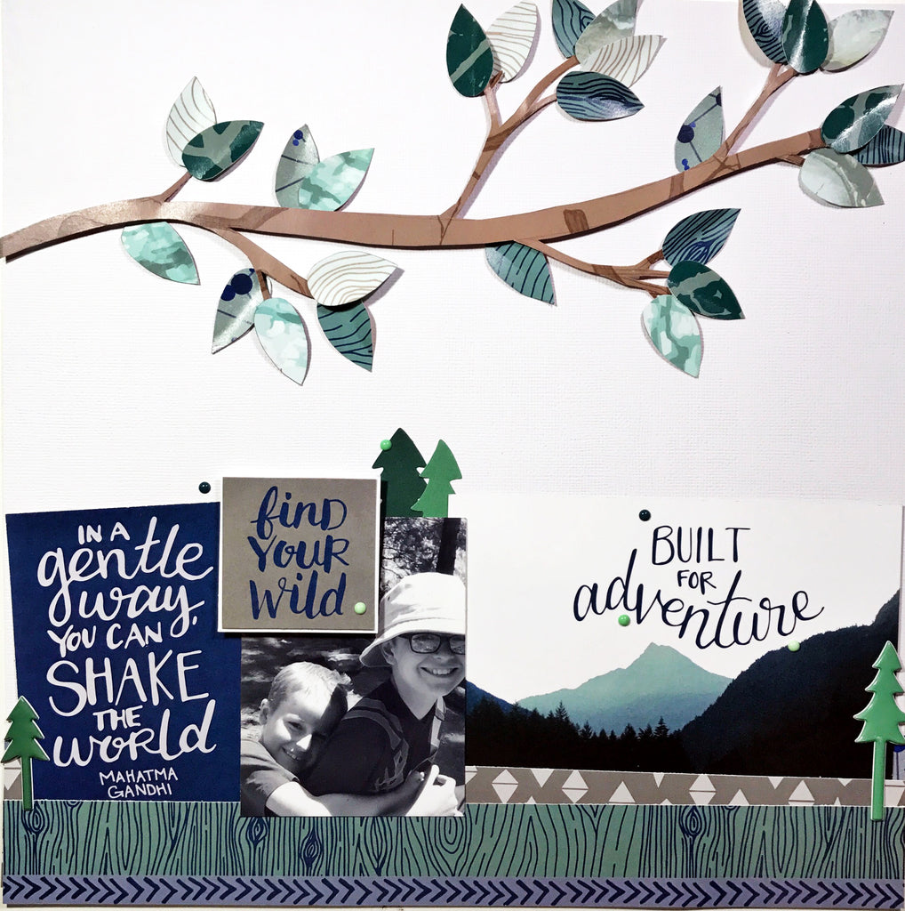 """Built for Adventure"" Layout by Khristina"
