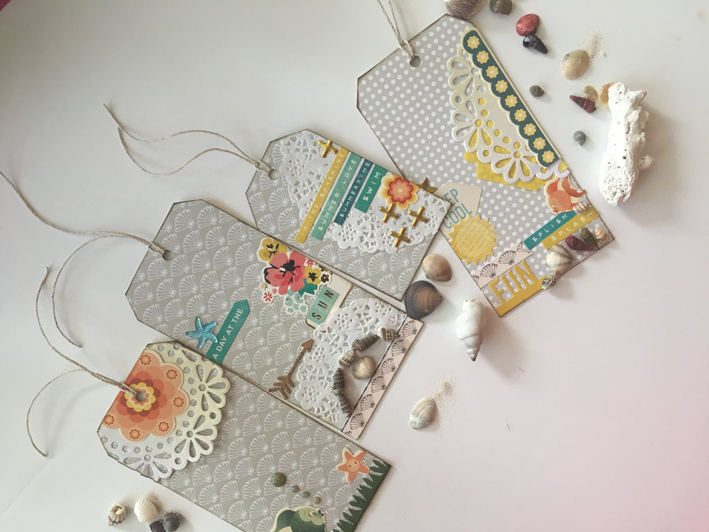 DIY Tags; by Felicia Young
