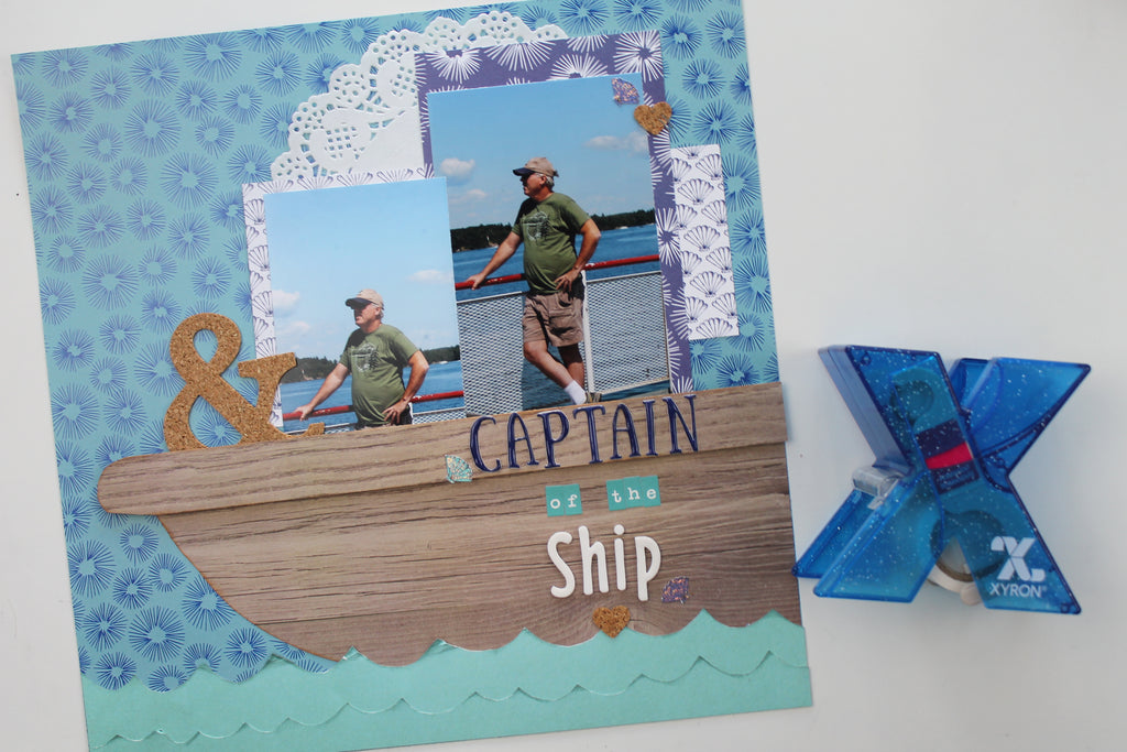 Xyron Feature Week - Captain of The Ship by Katelyn