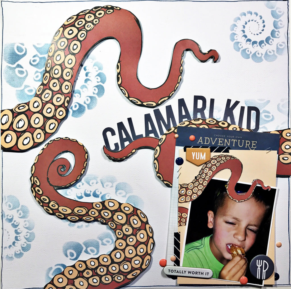 Calamari Kid by Khristina